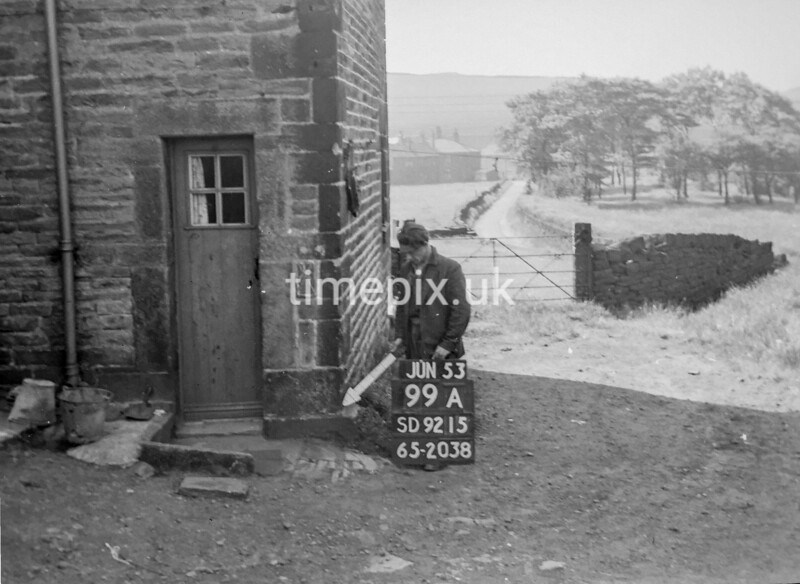 SD921599A, Ordnance Survey Revision Point photograph in Greater Manchester