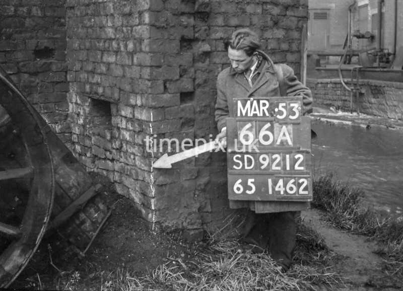 SD921266A, Ordnance Survey Revision Point photograph in Greater Manchester