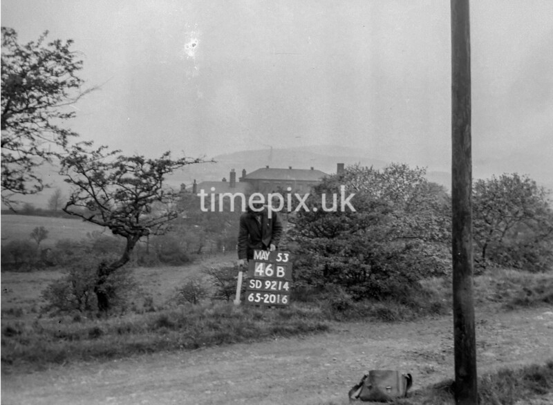 SD921446B, Ordnance Survey Revision Point photograph in Greater Manchester