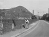 SD941861B, Man marking Ordnance Survey minor control revision point with an arrow in 1950s