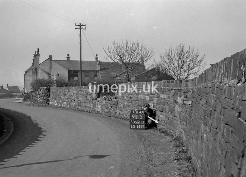 SD921391B, Ordnance Survey Revision Point photograph in Greater Manchester
