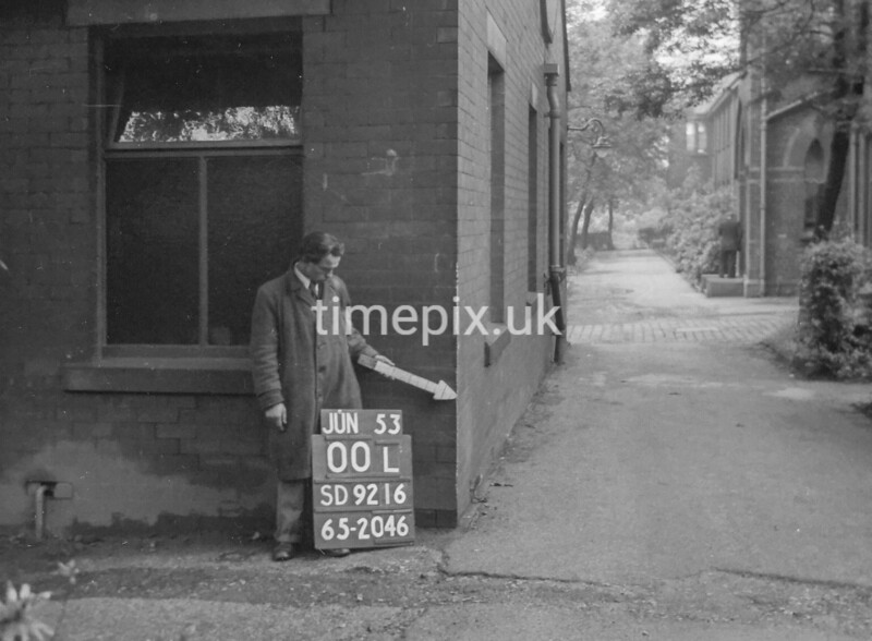 SD921600L, Ordnance Survey Revision Point photograph in Greater Manchester