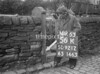 SD921256K, Ordnance Survey Revision Point photograph in Greater Manchester