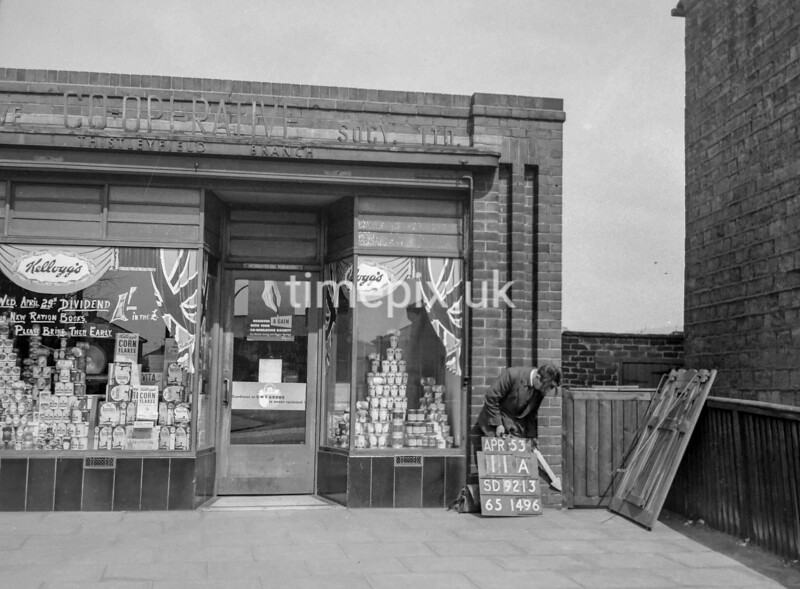 SD921311A, Ordnance Survey Revision Point photograph in Greater Manchester