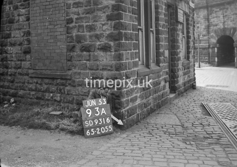 SD931693A, Ordnance Survey Revision Point photograph in Greater Manchester