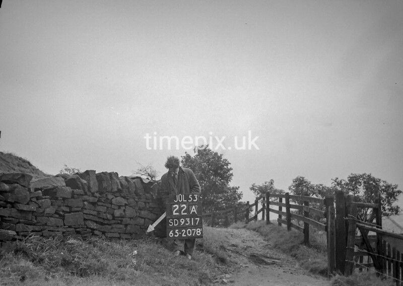 SD931722A, Ordnance Survey Revision Point photograph in Greater Manchester