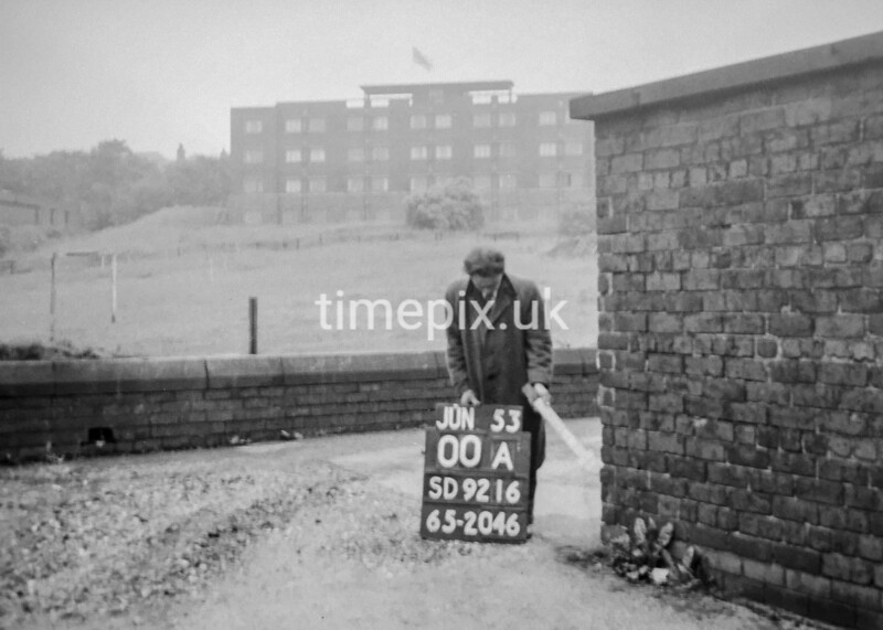 SD921600A, Ordnance Survey Revision Point photograph in Greater Manchester