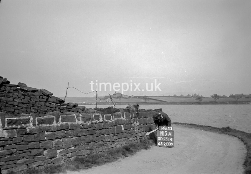SD931445A, Ordnance Survey Revision Point photograph in Greater Manchester