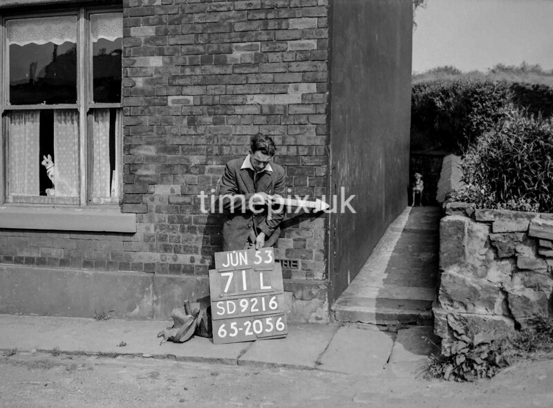SD921671L, Ordnance Survey Revision Point photograph in Greater Manchester