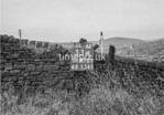 SD970133A, Man marking Ordnance Survey minor control revision point with an arrow in 1950s
