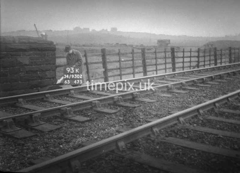 SD930293K, Ordnance Survey Revision Point photograph in Greater Manchester