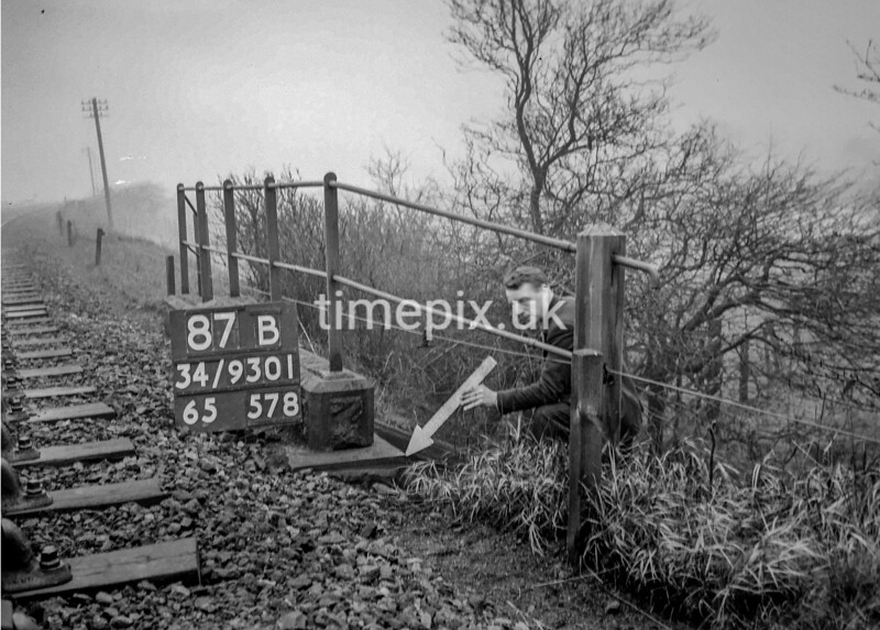SD930187B, Ordnance Survey Revision Point photograph in Greater Manchester