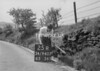 SD940725R, Man marking Ordnance Survey minor control revision point with an arrow in 1950s