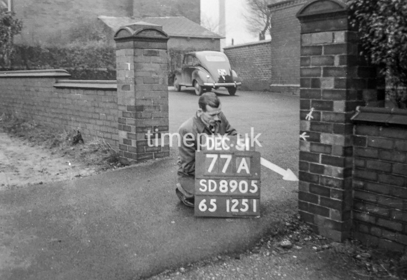 SD890577A2, Ordnance Survey Revision Point photograph in Greater Manchester