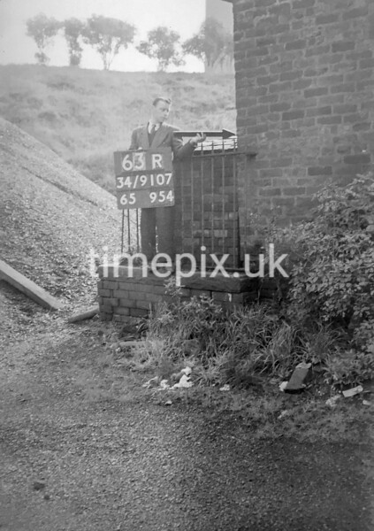 SD910763R, Ordnance Survey Revision Point photograph in Greater Manchester