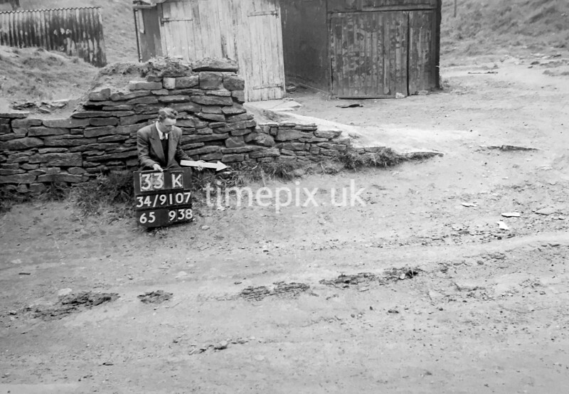 SD910733K, Ordnance Survey Revision Point photograph in Greater Manchester