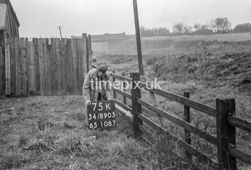 SD890575K, Ordnance Survey Revision Point photograph in Greater Manchester