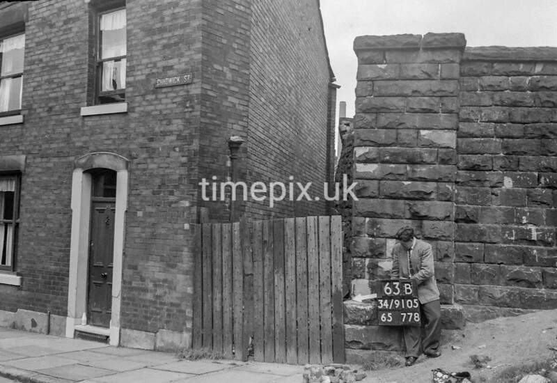 SD910563B, Ordnance Survey Revision Point photograph in Greater Manchester