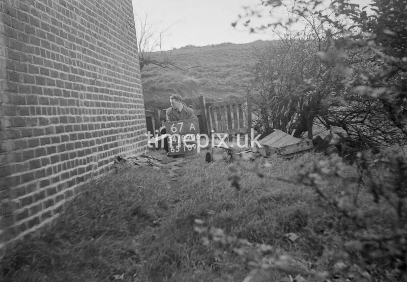 SD890667A, Ordnance Survey Revision Point photograph in Greater Manchester