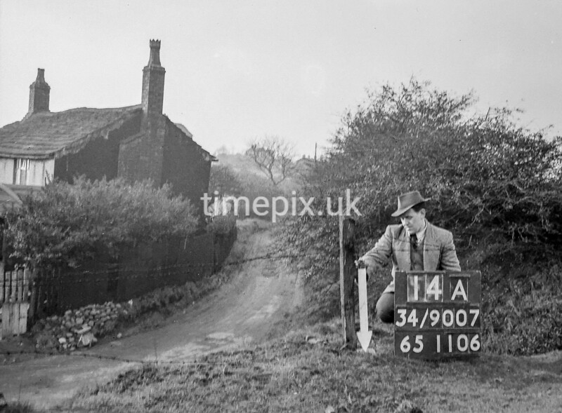 SD900714A, Ordnance Survey Revision Point photograph in Greater Manchester