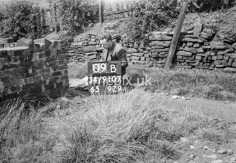 SD910709B, Ordnance Survey Revision Point photograph in Greater Manchester