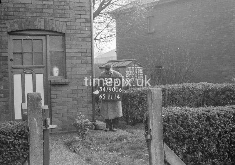 SD900652A, Ordnance Survey Revision Point photograph in Greater Manchester