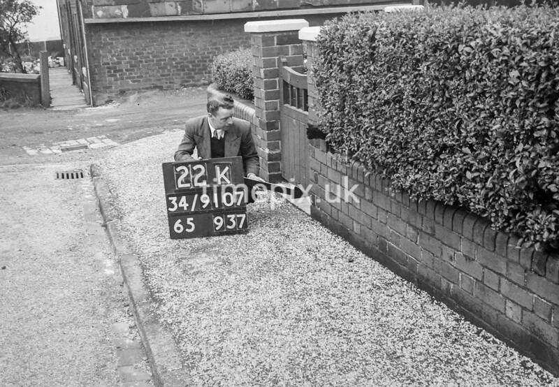 SD910722K, Ordnance Survey Revision Point photograph in Greater Manchester