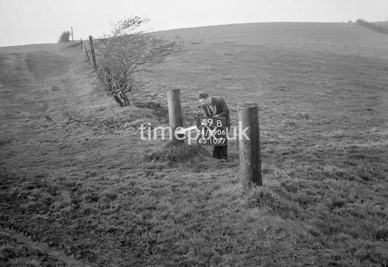 SD890649B, Ordnance Survey Revision Point photograph in Greater Manchester