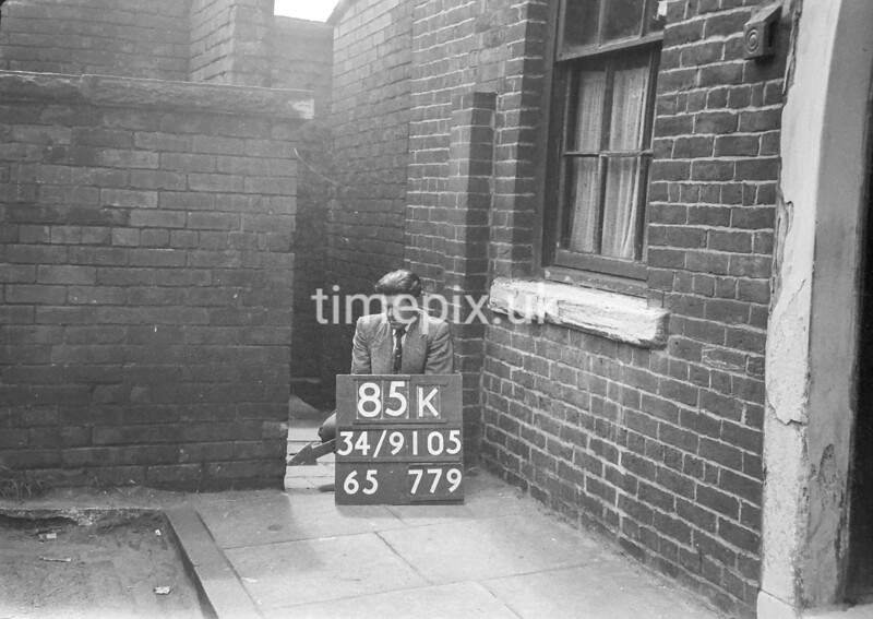 SD910585K, Ordnance Survey Revision Point photograph in Greater Manchester