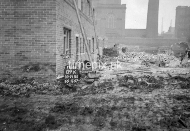 SD910509K, Ordnance Survey Revision Point photograph in Greater Manchester