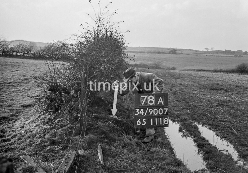 SD900778A, Ordnance Survey Revision Point photograph in Greater Manchester