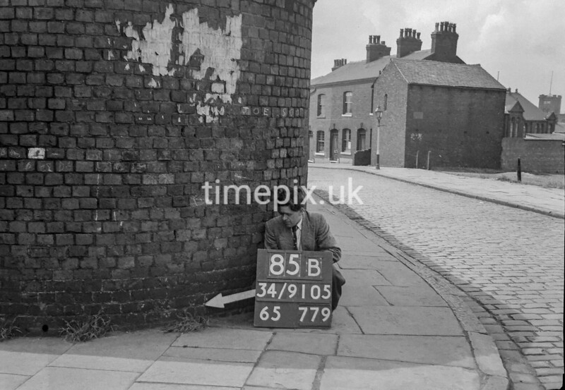 SD910585B, Ordnance Survey Revision Point photograph in Greater Manchester