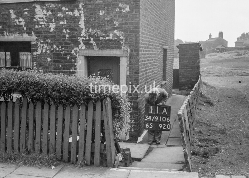 SD910611A, Ordnance Survey Revision Point photograph in Greater Manchester