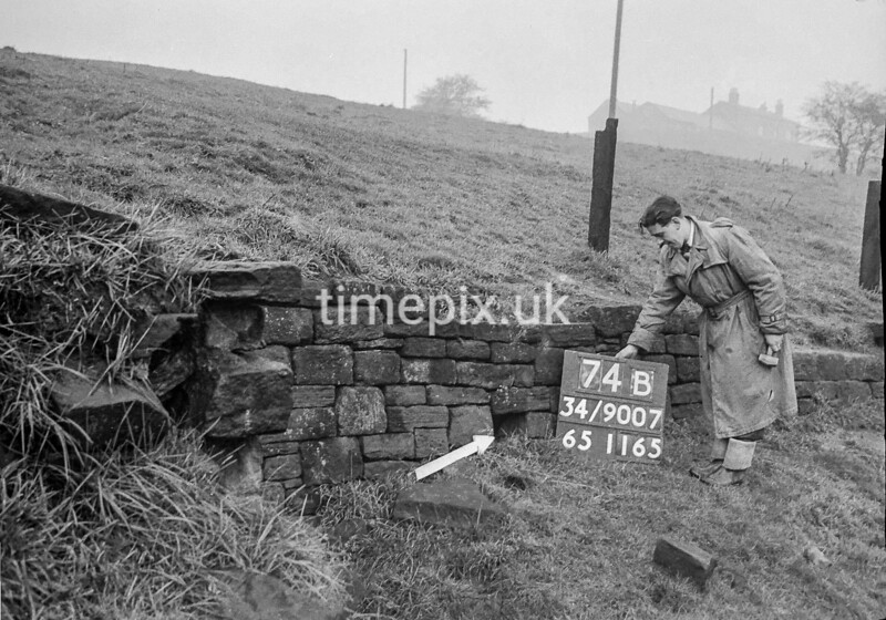 SD900774B, Ordnance Survey Revision Point photograph in Greater Manchester