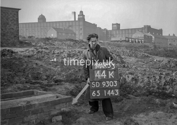 SD930344K, Ordnance Survey Revision Point photograph in Greater Manchester