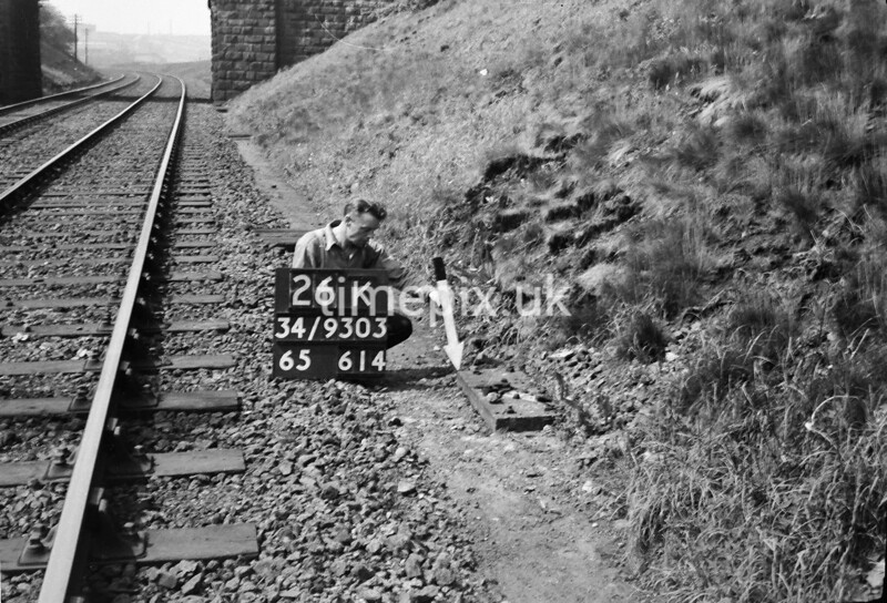 SD930326K, Ordnance Survey Revision Point photograph in Greater Manchester