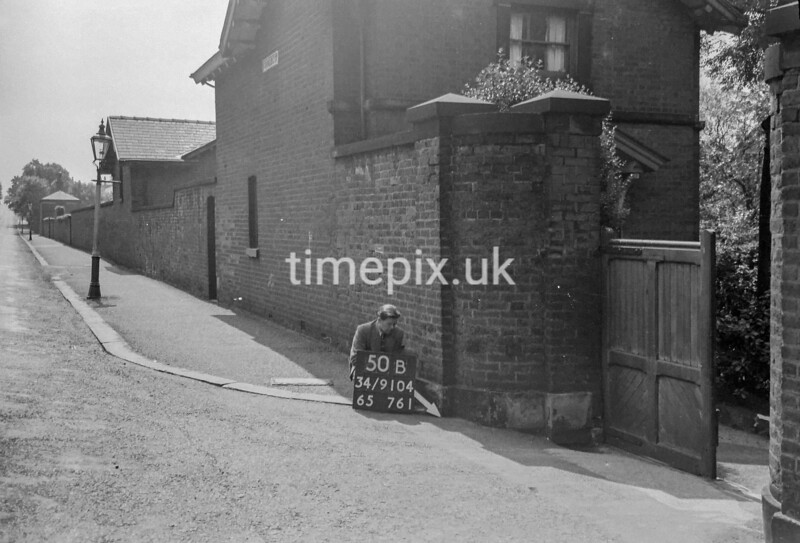 SD910450B, Ordnance Survey Revision Point photograph in Greater Manchester