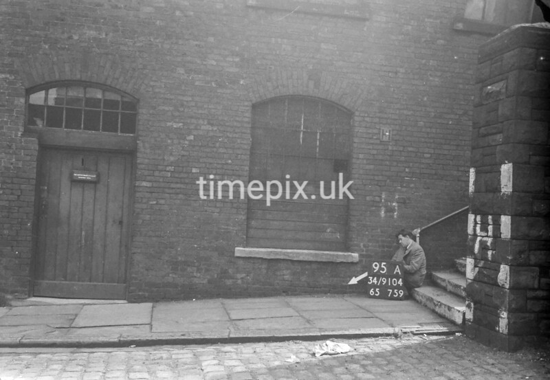 SD910495A, Ordnance Survey Revision Point photograph in Greater Manchester