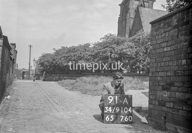 SD910491A, Ordnance Survey Revision Point photograph in Greater Manchester