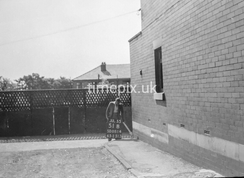 SD881451B, Ordnance Survey Revision Point photograph in Greater Manchester