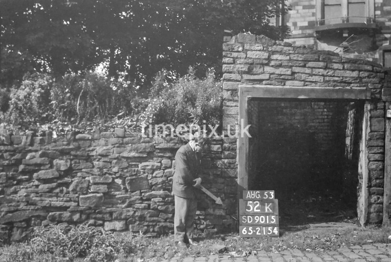 SD901552K, Ordnance Survey Revision Point photograph in Greater Manchester