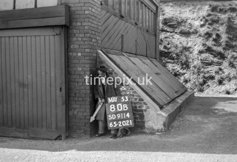 SD911480B, Ordnance Survey Revision Point photograph in Greater Manchester