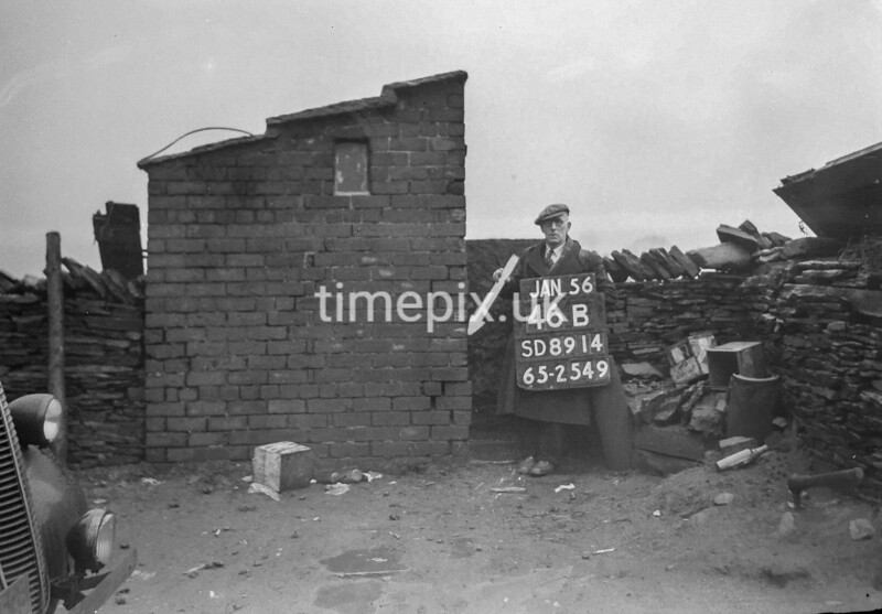 SD891446B, Ordnance Survey Revision Point photograph in Greater Manchester