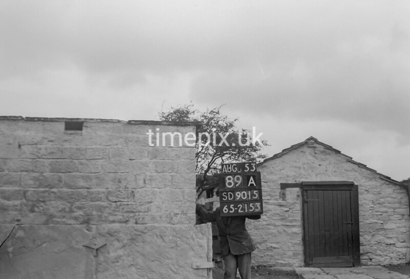 SD901589A, Ordnance Survey Revision Point photograph in Greater Manchester