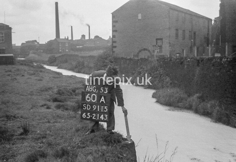 SD911560A, Ordnance Survey Revision Point photograph in Greater Manchester