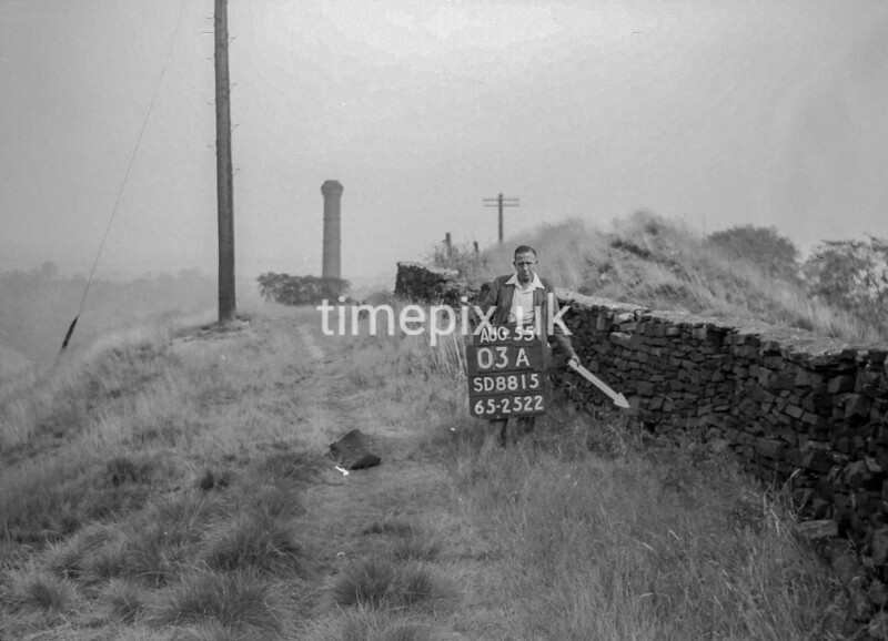 SD881503A, Ordnance Survey Revision Point photograph in Greater Manchester