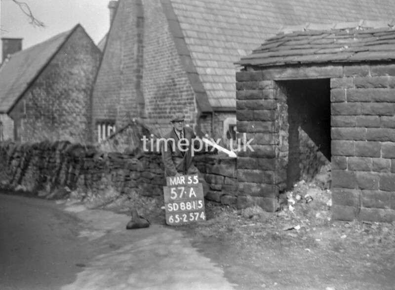 SD881557A, Ordnance Survey Revision Point photograph in Greater Manchester