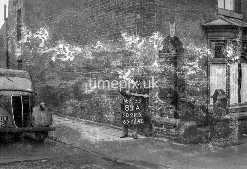 SD911585A, Ordnance Survey Revision Point photograph in Greater Manchester