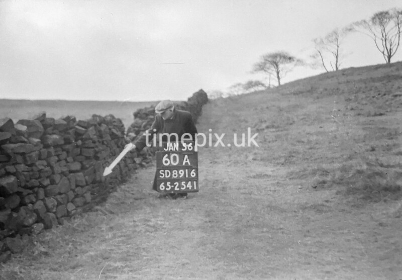 SD891660A, Ordnance Survey Revision Point photograph in Greater Manchester