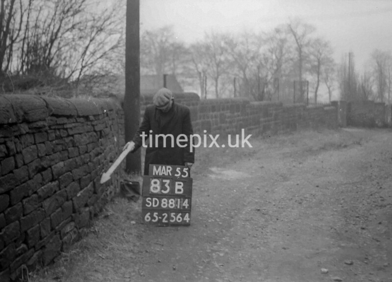 SD881483B, Ordnance Survey Revision Point photograph in Greater Manchester